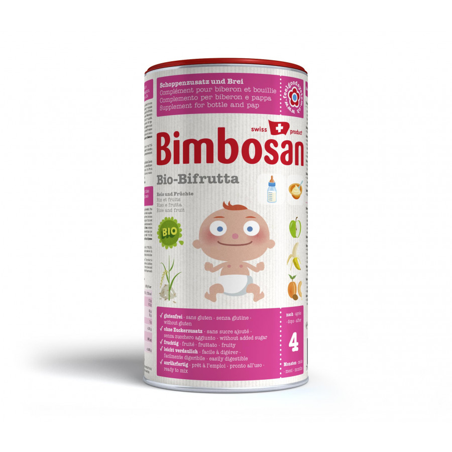 Hier sehen Sie den Artikel BIMBOSAN Bio Bifrutta Plv Reis + Früchte Ds 300 g aus der Kategorie Milch und Schleim. Dieser Artikel ist erhältlich bei apothekedrogerie.ch