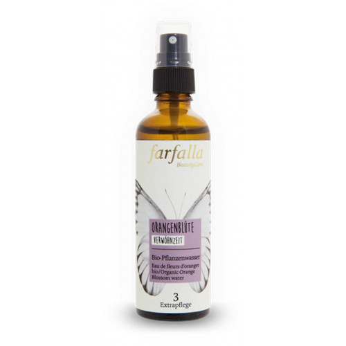 FARFALLA Bio-Pflanzenwasser Orangenblüte Spr 75 ml