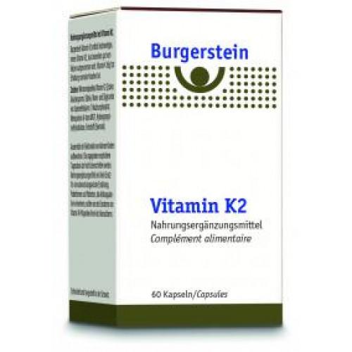 BURGERSTEIN Vitamin K2 Kaps 180 mcg Ds 60 Stk