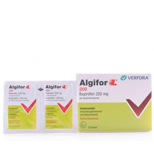 ALGIFOR-L Granulat 200 mg Beutel 20 Stk