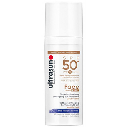 ULTRASUN Face Fluid SPF50+ Tinted HONEY 40 ml