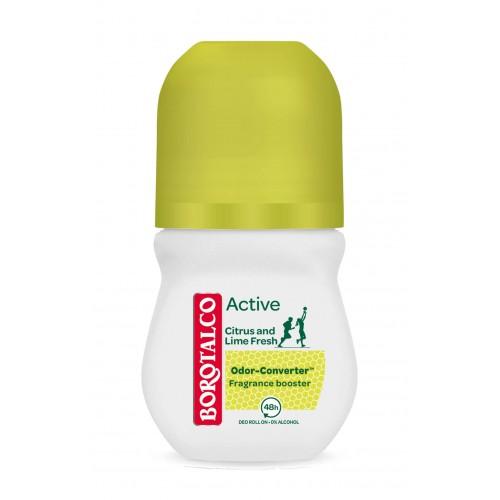 BOROTALCO Active Fresh Roll on Zitrone Limette 50 ml