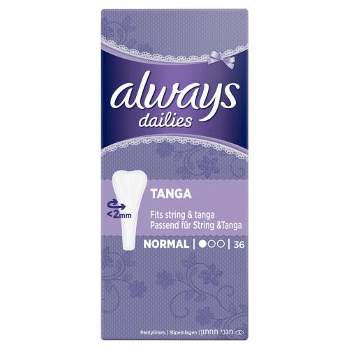 ALWAYS Slipeinlage Tanga 36 Stk
