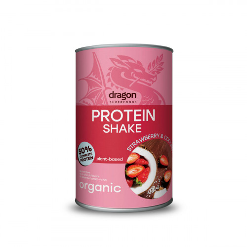 DRAGON SUPERFOODS Protein Shake Strawberry&Cocos 450 g