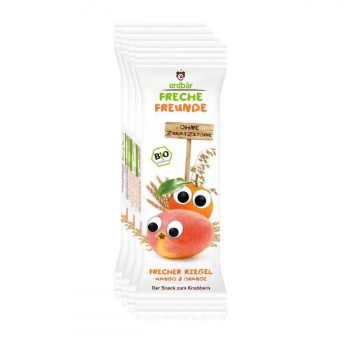 FRECHE FREUNDE Getreideriegel Mango&Orange 4 x 23 g