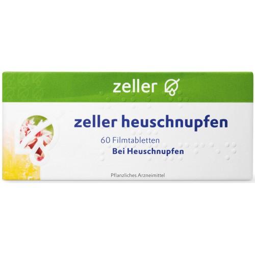 ZELLER Heuschnupfen Filmtabl 60 Stk