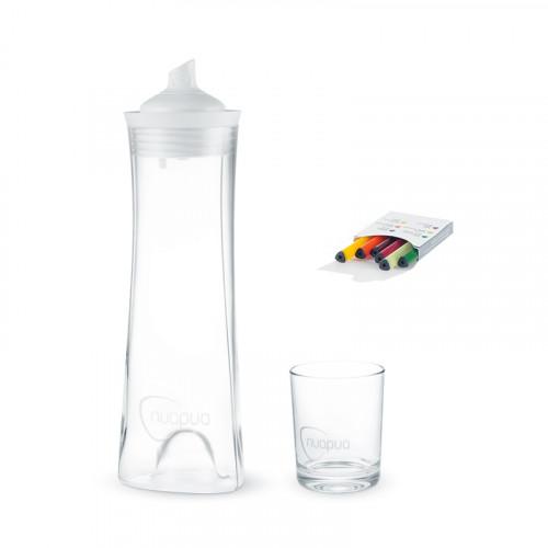 NUAPUA Starterset Glas 0.75l ink 6 Flavorkapseln