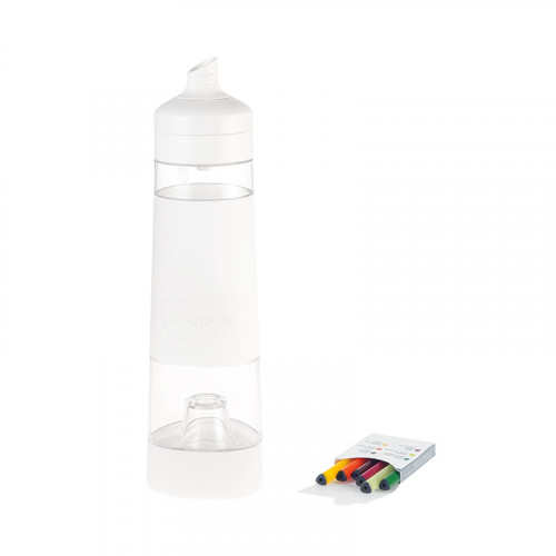 NUAPUA Starterset WHITE 0.5l inkl 6 Flavorkapseln