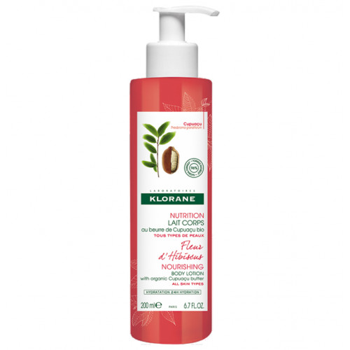 KLORANE Bodylotion Hibiskusblüte 400 ml
