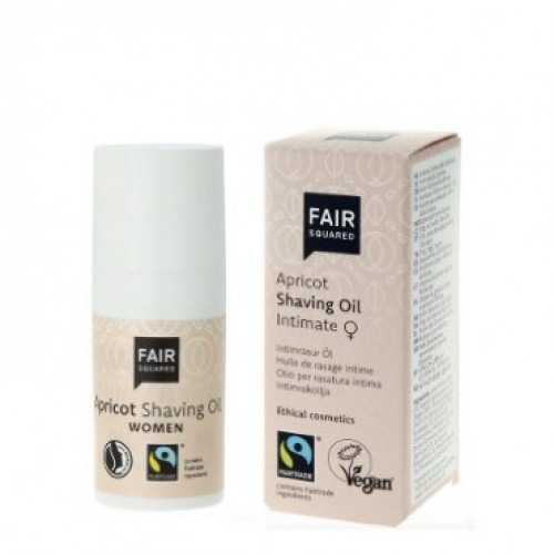 FAIR SQUARED Shaving Oil Women Apricot Fl 30 ml