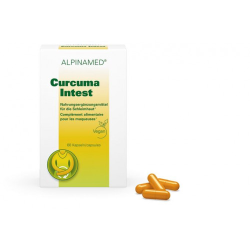 ALPINAMED Curcuma Intest Kaps 60 Stk