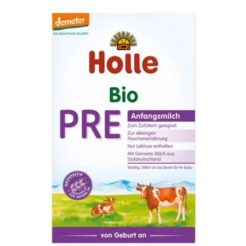 HOLLE Bio-Anfangsmilch PRE Portionen 3 x 20 g