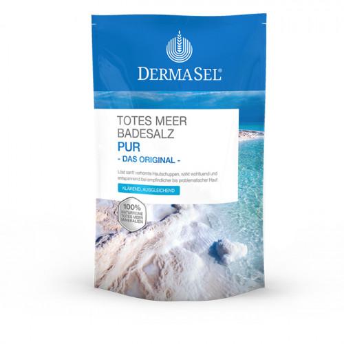 DERMASEL Badesalz PUR dfi Karton 1.5 kg