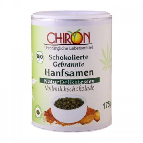 CHIRON Hanfsamen gebrannt in Vollmilch Bio 175 g