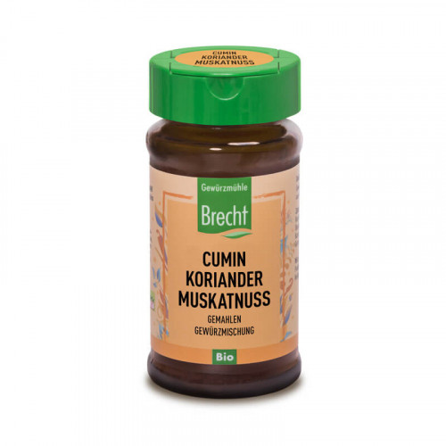 BRECHT Cumin-Koriander-Muskatnus gemahlen Bio 35 g