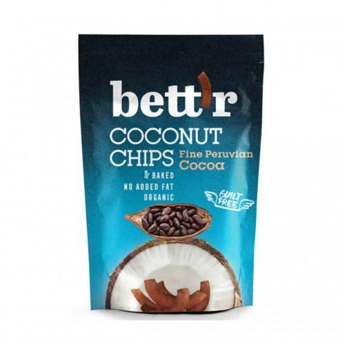 BETT'R Coconut Chips Cacao Btl 70 g