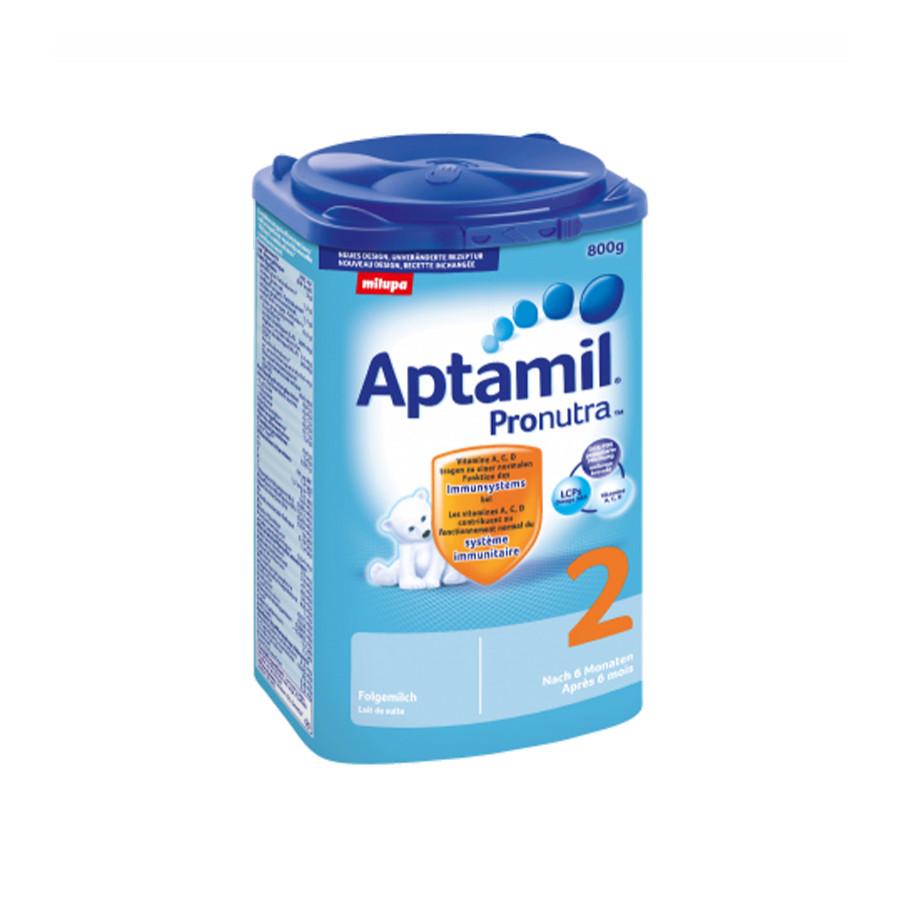 Hier sehen Sie den Artikel MILUPA Aptamil 2 EaZypack 800 g aus der Kategorie Milch und Schleim. Dieser Artikel ist erhältlich bei apothekedrogerie.ch