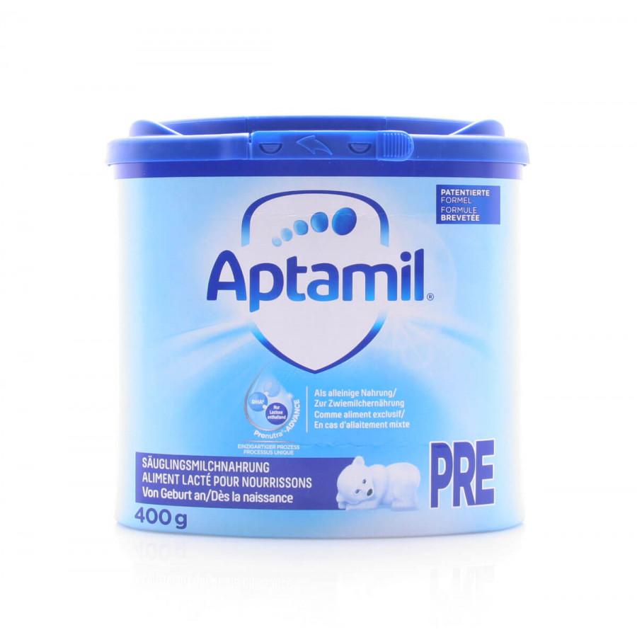 Hier sehen Sie den Artikel MILUPA Aptamil Pre EaZypack 400 g aus der Kategorie Milch und Schleim. Dieser Artikel ist erhältlich bei apothekedrogerie.ch