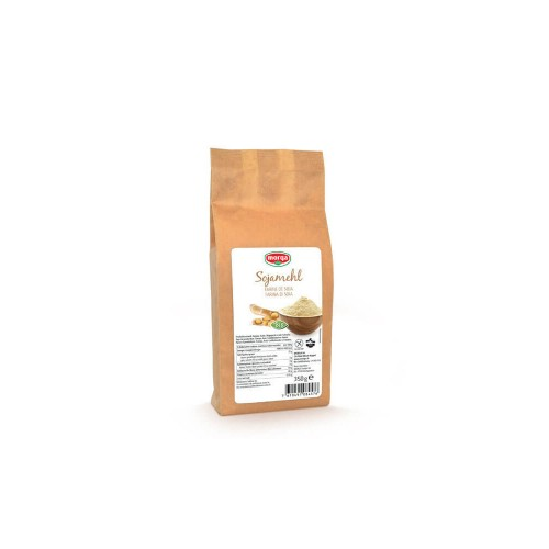 MORGA Sojamehl glutenfrei Bio Beutel 350 g