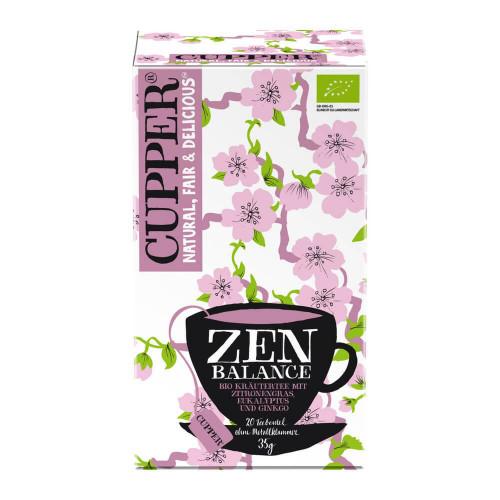 CUPPER Zen Balance Kräutertee Zitr Euk Bio 20 Stk