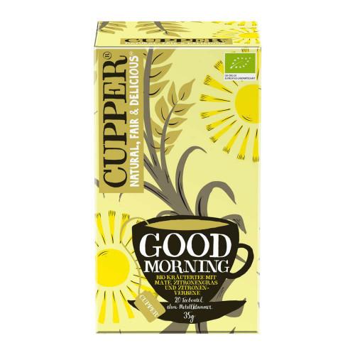 CUPPER Good Morning Kräutertee Zit Mat Bio 20 Stk