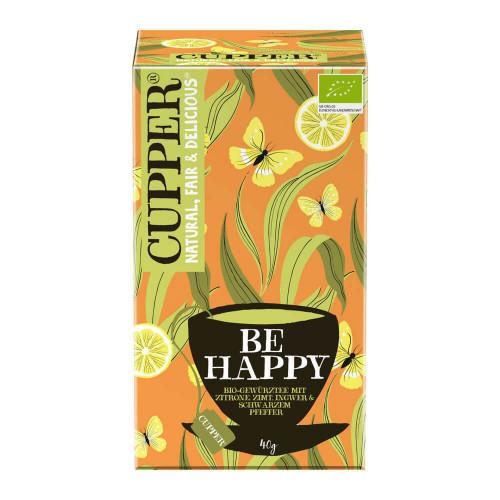 CUPPER Be Happy Gewürztee Zitr Zimt Ing Bio 20 Stk