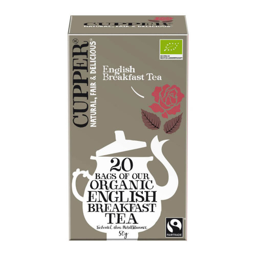CUPPER English Breakfast Tee Fairtrade Bio 20 Stk