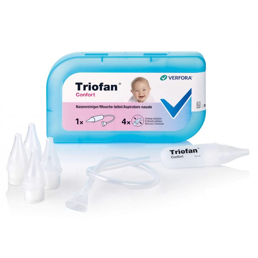 Hier sehen Sie den Artikel TRIOFAN Confort Nasenreiniger aus der Kategorie Nasenduschen und Nasenpümpchen. Dieser Artikel ist erhältlich bei apothekedrogerie.ch