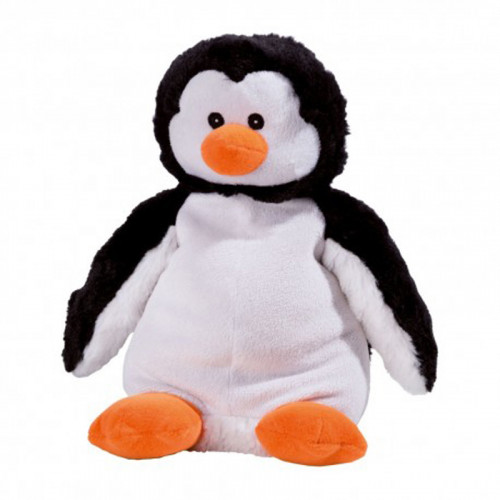 WARMIES Minis Wärme-Stofftier Baby-Pinguin Lavend