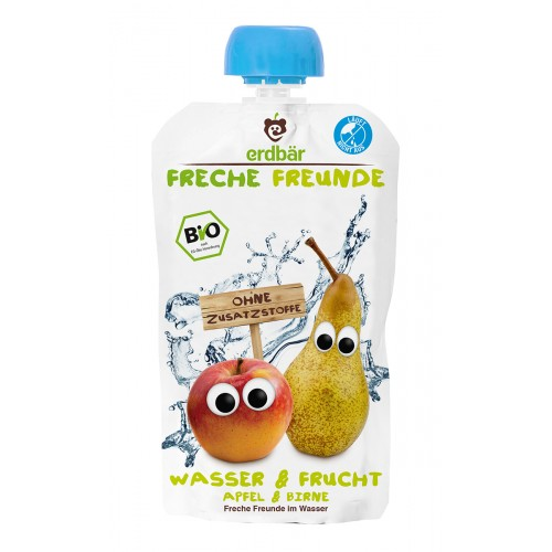 FRECHE FREUNDE Freches Wasser Apfel & Birne 200 ml