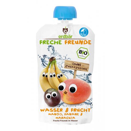 FRECHE FREUNDE Freches Wasser Mango, Banane&Maracuja 200 ml