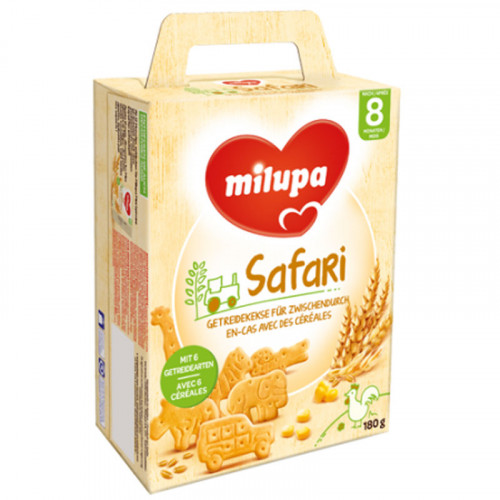 MILUPA Biscuits Safari (neu) 180 g