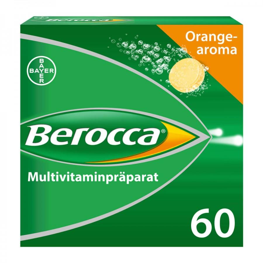 Hier sehen Sie den Artikel BEROCCA Brausetabl orange 60 Stk aus der Kategorie Medikamente der Liste D. Dieser Artikel ist erhältlich bei unseredrogerie.ch