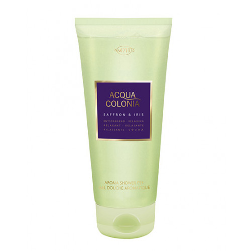 4711 ACQUA COLONIA Saffron&Iris Shower Gel 200 ml