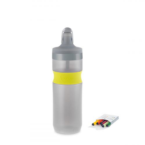 NUAPUA Sportflasche LIME 0.65l inkl 6 Flavorkaps