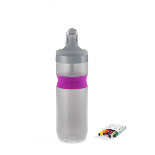 NUAPUA Sportflasche BERRY 0.65l inkl 6 Flavorkaps