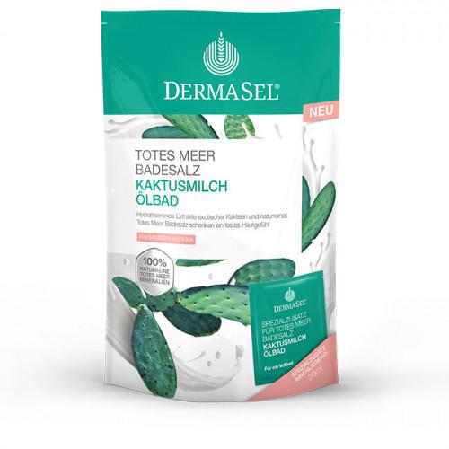DERMASEL Badesalz Kaktusmilch Btl 400 g