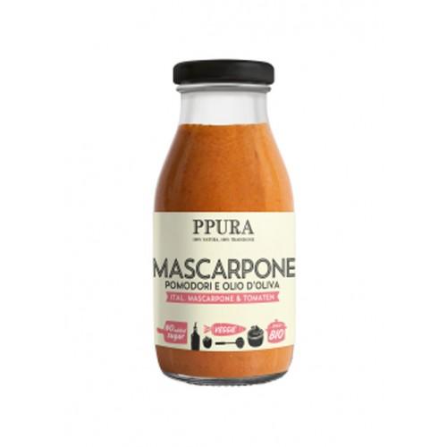 PPURA Sugo Mascarpone & Tomaten Bio Glas 120 g