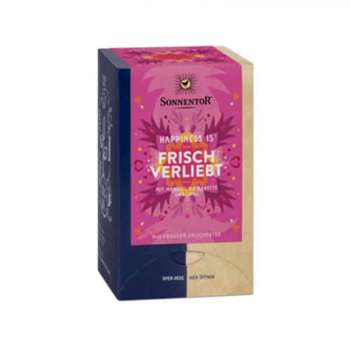 SONNENTOR Happiness is Frisch verliebt Tee 18 Stk