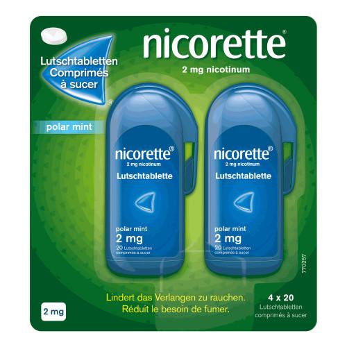 NICORETTE Polar Mint Lutschtabl 2 mg 80 Stk