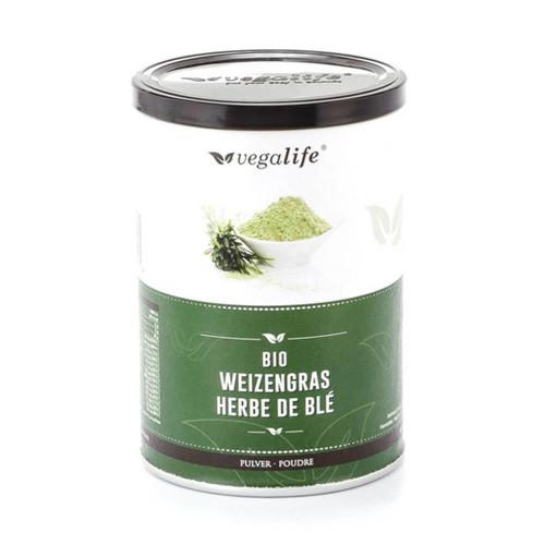 VEGALIFE Weizengras Pulver (neu) Ds 125 g
