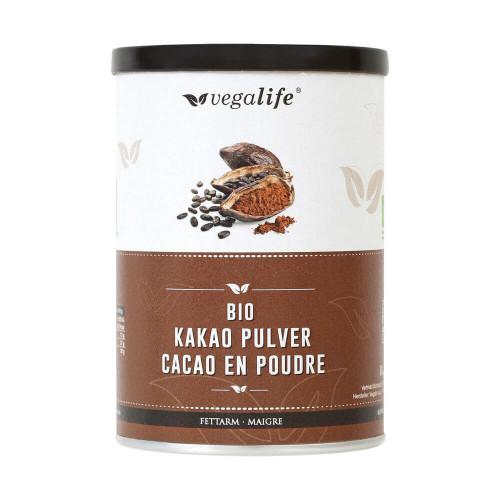 VEGALIFE Kakao Pulver fettarm (neu) Ds 125 g