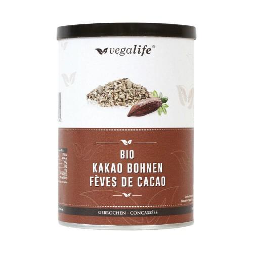 VEGALIFE Kakao Bohnen gebrochen Ds 175 g