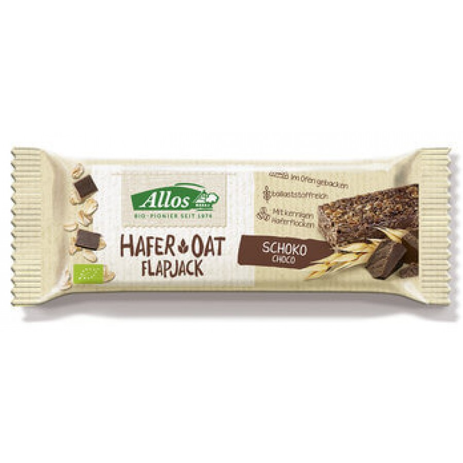 Hier sehen Sie den Artikel ALLOS Flapjack Hafer Schoko 50 g aus der Kategorie Biscuits/Snacks/Schokolade. Dieser Artikel ist erhältlich bei apothekedrogerie.ch