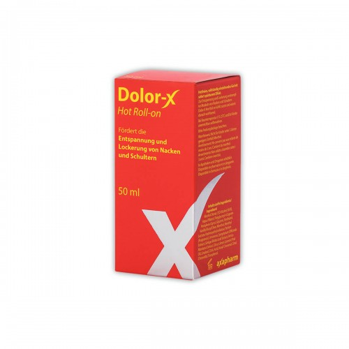 DOLOR-X Hot Roll-on 50 ml