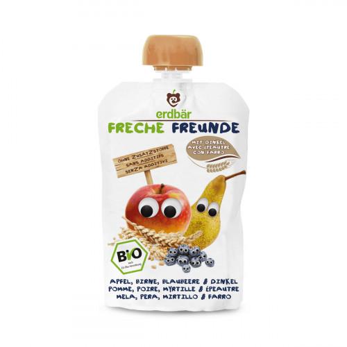 FRECHE FREUNDE Quetschmus Ap Bi Blau&Din neu 100 g