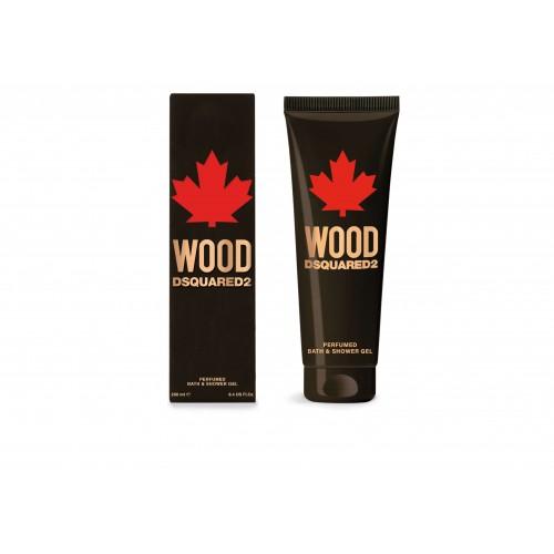 DSQUARED² WOOD HOMME Perfumed Bath&Shower Gel 250 ml