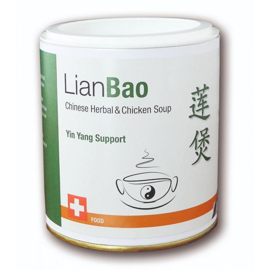 Hier sehen Sie den Artikel LIANBAO Chinese Herb Chick Soup Yin Yang Sup 200 g aus der Kategorie Konserven und Fertiggerichte. Dieser Artikel ist erhältlich bei unseredrogerie.ch