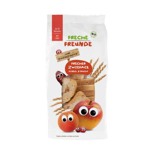 FRECHE FREUNDE Frecher Zwieback Dink&Frucht 100 g