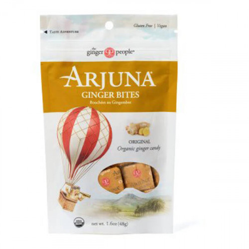 ARJUNA Ginger Party Ginger Bites Original Bio 48 g